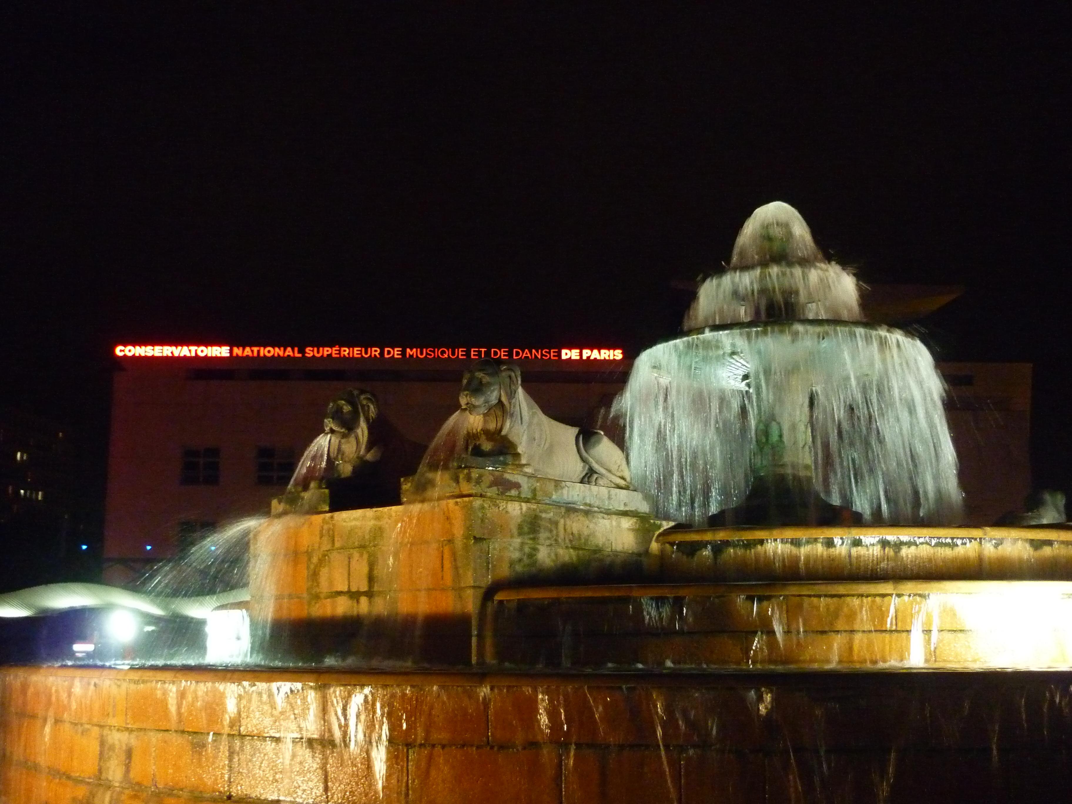 Fontaine à la Villette